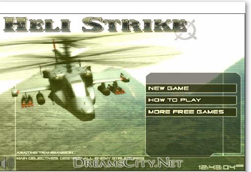 لعبة قصف بالهيلكوبتر | Heli Strike