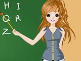 لعبة تلبيس ملابس Teacher