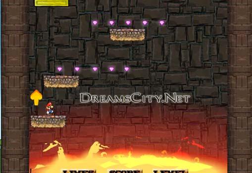 لعبة ماريو في مشكلة | Mario In Trouble