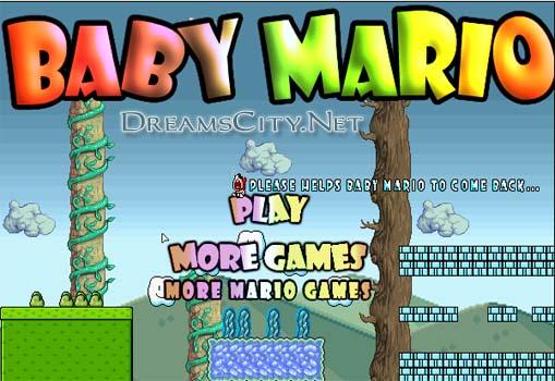 لعبة ماريو الطفل | Baby Mario