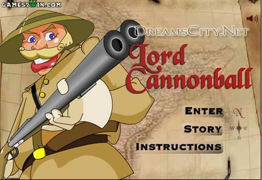 لعبة الصياد | lord cannonball