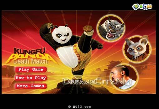 لعبة مباراة الموت | Kung Fu Panda Death Match