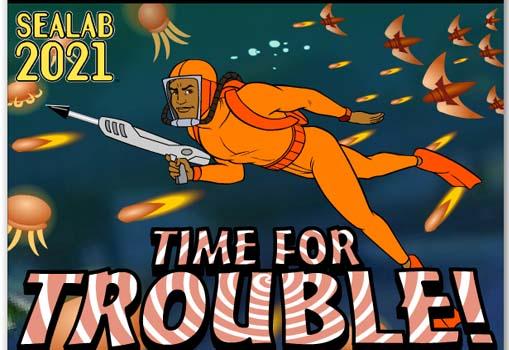 لعبة اللحظات الحرجة | time for trouble