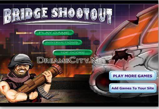 لعبة تبادل اطلاق النار | Bridge Shootout