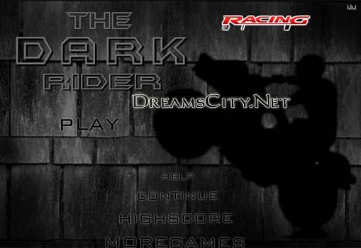 لعبة متسابق الظلام - the dark rider