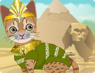 تلبيس القطه الفرعونية