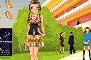لعبة تلبيس فتاة المدرسة