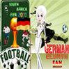 لعبة تلبيس مشجعة المانيا