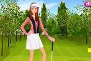 لعبة تلبيس فتاة الجولف